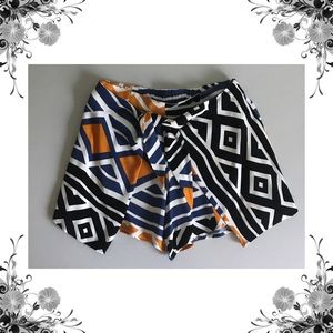 {Ella Moss} Luana Printed Wrap Shorts